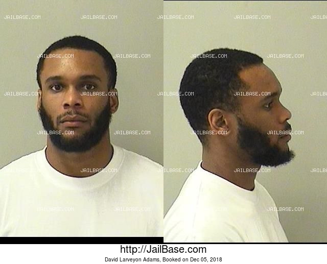 DAVID LARVEYON ADAMS mugshot picture
