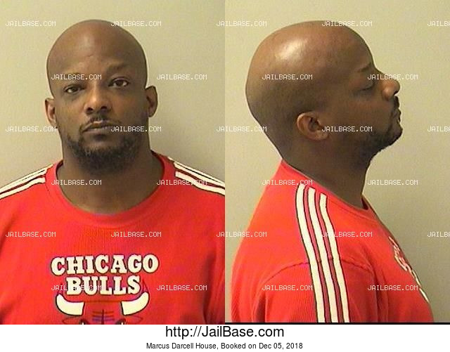 MARCUS DARCELL HOUSE mugshot picture