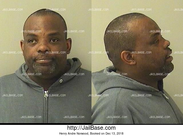 HENRY ANDRE NORWOOD mugshot picture
