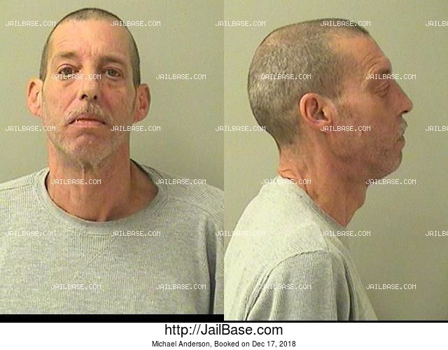 MICHAEL ANDERSON mugshot picture