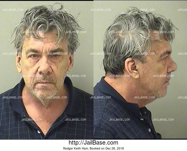 RODGER KEITH HAM mugshot picture