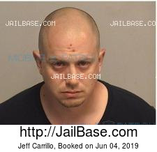 Jeff Carrillo mugshot picture