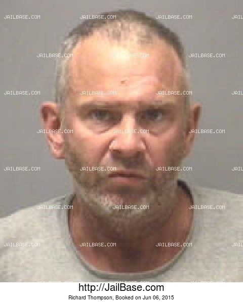 Richard Thompson mugshot picture