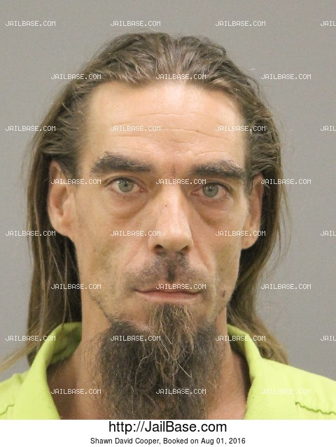 SHAWN DAVID COOPER mugshot picture