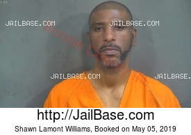 Shawn Lamont Williams mugshot picture