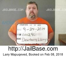 Larry Wapuqeved mugshot picture