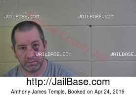 ANTHONY JAMES TEMPLE mugshot picture
