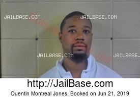 QUENTIN MONTREAL JONES mugshot picture