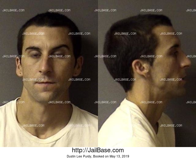 dustin lee purdy mug shot image