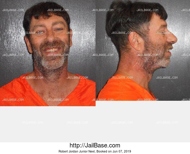 Robert Jordan Junior Neel mugshot picture