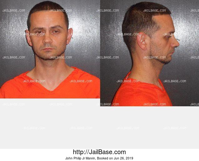 John Philip Jr Marvin mugshot picture