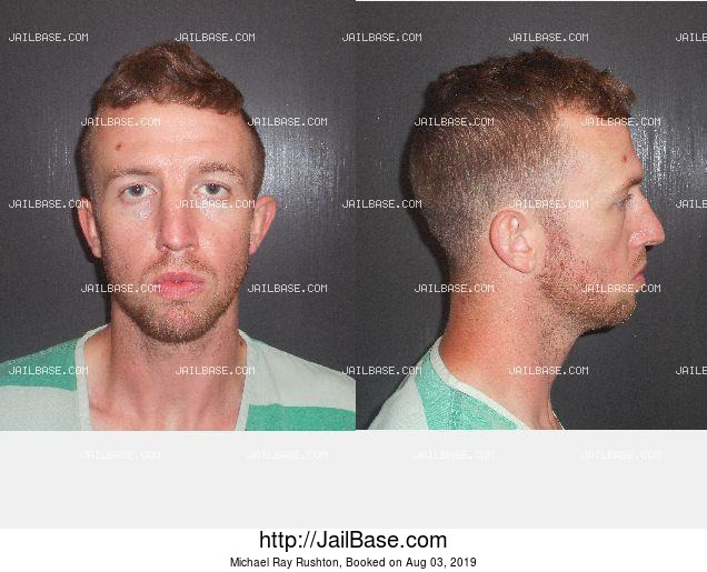 Michael Ray Rushton mugshot picture