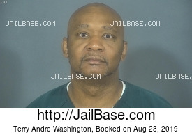 TERRY ANDRE WASHINGTON mugshot picture