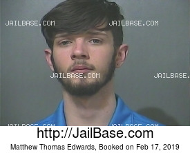 Matthew Thomas Edwards mugshot picture