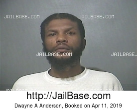 Dwayne A Anderson mugshot picture