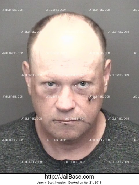 JEREMY SCOTT HOUSTON mugshot picture