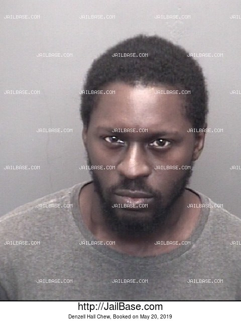 DENZELL HALL CHEW mugshot picture