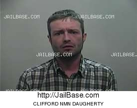 CLIFFORD NMN DAUGHERTY mugshot picture