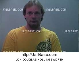 jon douglas hollingsworth mugshot picture