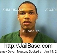 JAQUINCY DAVON MOUTON mugshot picture