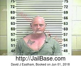 DAVID J EASTHAM mugshot picture
