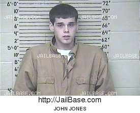 john jones mugshot picture