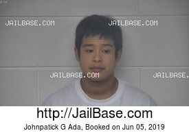 JOHNPATICK G ADA mugshot picture