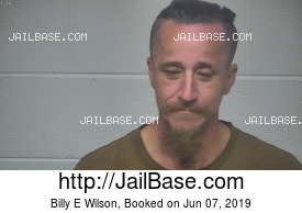BILLY E WILSON mugshot picture