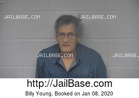 BILLY YOUNG mugshot picture