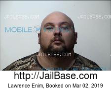 Lawrence Enim mugshot picture