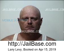 Larry Levy mugshot picture