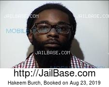 Hakeem Burch mugshot picture