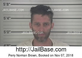 PERRY NORMAN BROWN mugshot picture