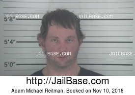 ADAM MICHAEL REITMAN mugshot picture