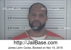 JAMES LERRN COOKS mugshot picture