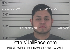 MIGUEL RECINOS-ANELL mugshot picture
