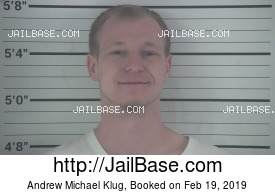 ANDREW MICHAEL KLUG mugshot picture