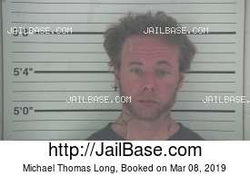 MICHAEL THOMAS LONG mugshot picture