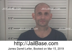 JAMES DARRELL LEFLER mugshot picture