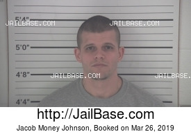 JACOB MONEY JOHNSON mugshot picture