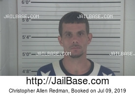 CHRISTOPHER ALLEN REDMAN mugshot picture