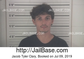 JACOB TYLER CLARY mugshot picture