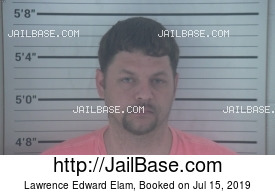 LAWRENCE EDWARD ELAM mugshot picture