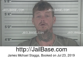 JAMES MICHAEL STAGGS mugshot picture