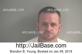 BRANDON B. YOUNG mugshot picture