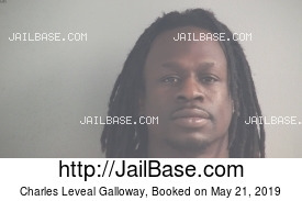 CHARLES LEVEAL GALLOWAY mugshot picture
