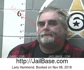 LARRY HAMMOND mugshot picture
