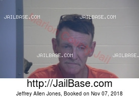 JEFFREY ALLEN JONES mugshot picture