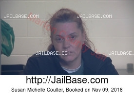 SUSAN MICHELLE COULTER mugshot picture