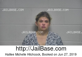 HAILLEE MICHELLE HITCHCOCK mugshot picture